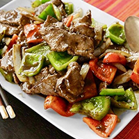 Beef with Green Pepper (Lunch)