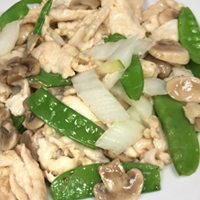Moo Goo Gai Pan (Lunch)